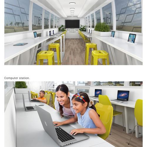 3D Tech Lab Bus