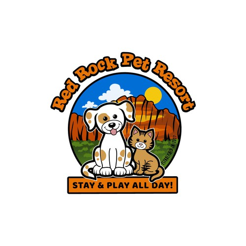 Pet Resort Logo