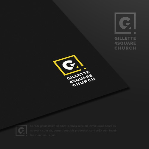 Minimalist Identity Design for a Hip Modern Church
