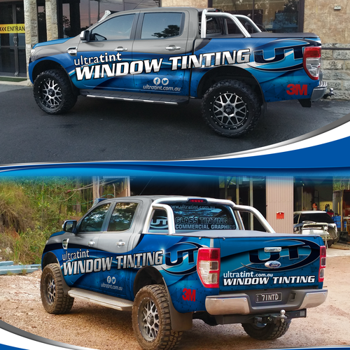 Wrap design for a Window Tinting company
