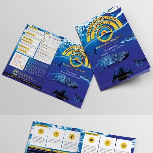 Ningaloo Whaleshark Swim brochure