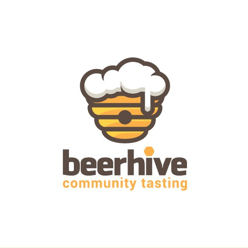 Logo concept for a beer tasting community