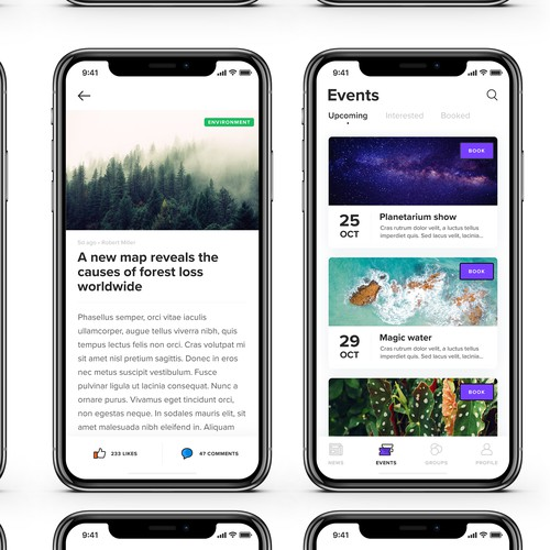 Detect - Scientific Events App