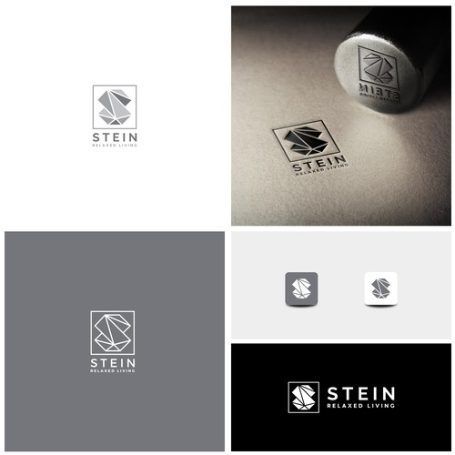 Bold logo for STEIN an Online retailing