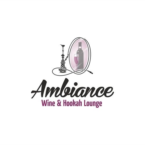 logo for Wine and Hookah bar
