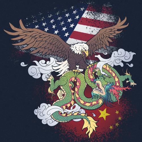 American Eagle vs. Chinese Dragon