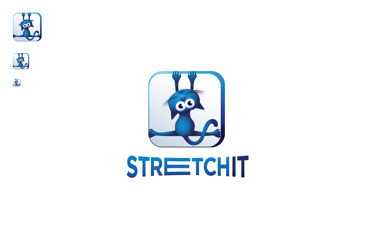 Create a catchy logo for a fitness app