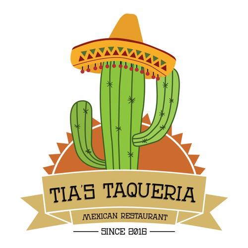 Fun logo design for a new mexican restaurant