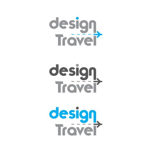 Design a logo for travel + design business