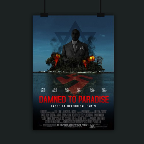 """Movie poster """"Damned to Paradise"""""""