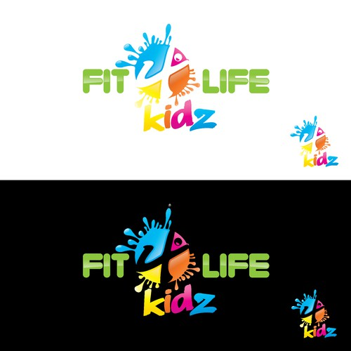 Create a FUN logo for a new Kids Fitness company!