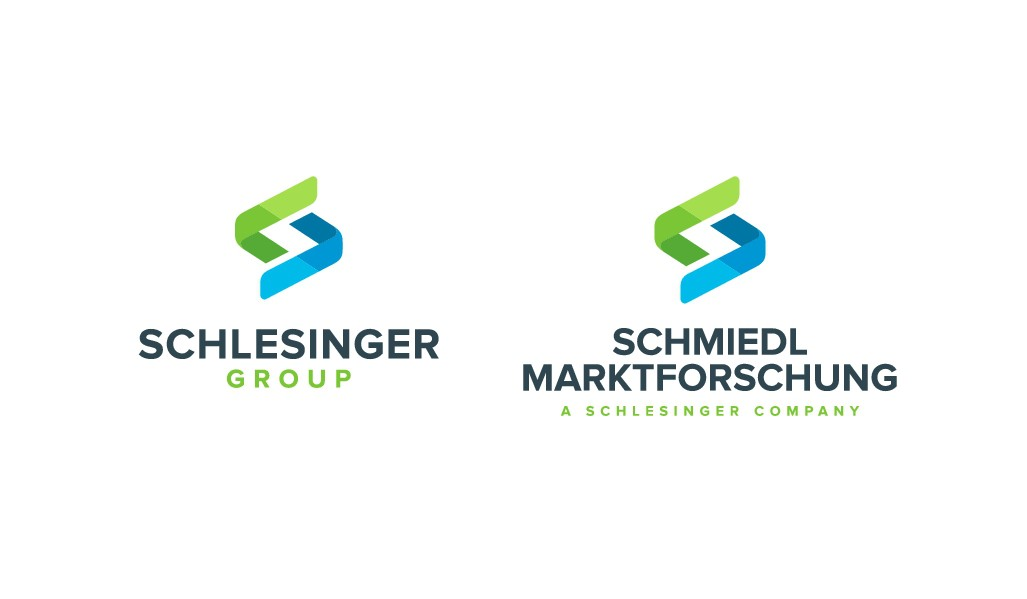 Market Research services company needs replacement logo for name adjustment: Schlesinger Group