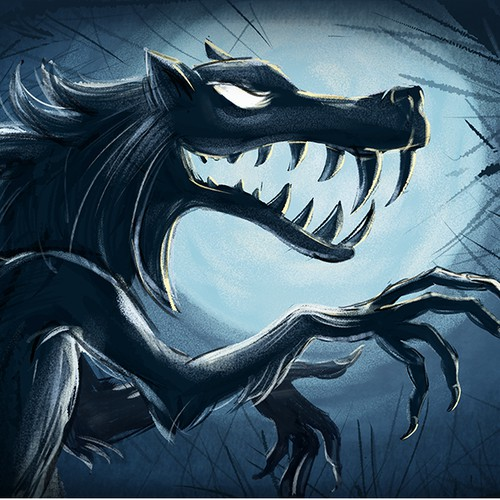Illustration for the Werewolf game