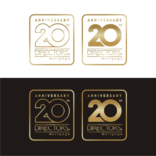 Create an Epic 20 year anniversary logo for local mortgage company!