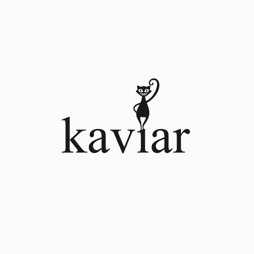 A logo for Kaviar