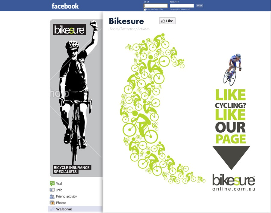 Help Bikesure with 2 new FACEBOOK banner