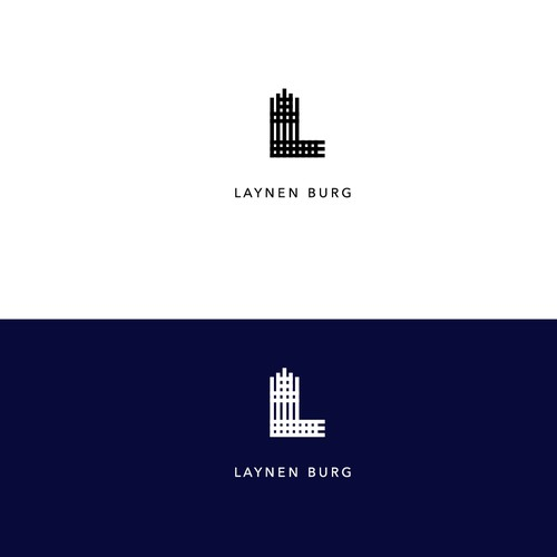 "we need a meaningful and minimalistic logo for our new brand ""Laynenburg"""