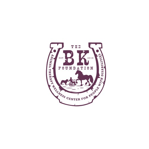 Classic logo concept for the BK Foundation