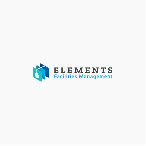 Modern Style Logo for Elements Facilities Management