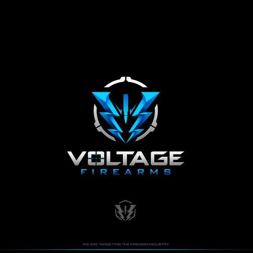 Logo design for Voltage Firearms