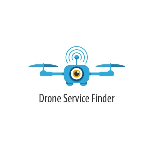 Logo concept for Drone Service Finder