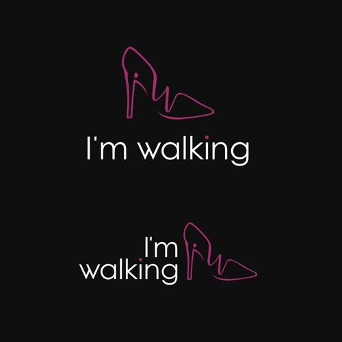 New Logo Design for Fashion Online Shop I'm walking