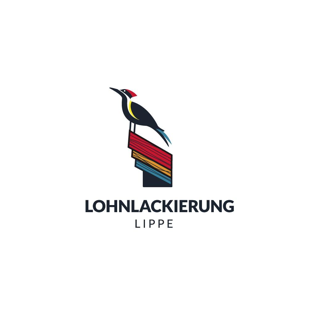 Logodesign für einen Lohnlackierer / Holzveredeler für das Holzhandwerk / die Holzindustrie