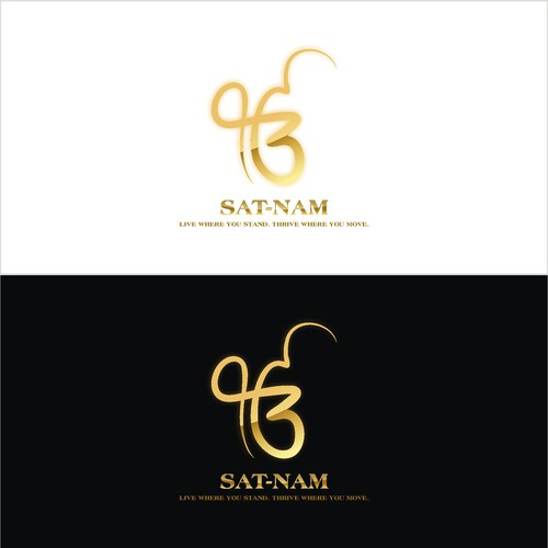 Creating a satnam logo for a movie