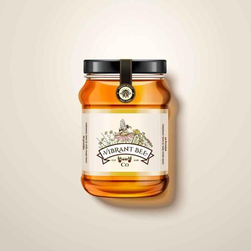 Beekeeping Company Logo