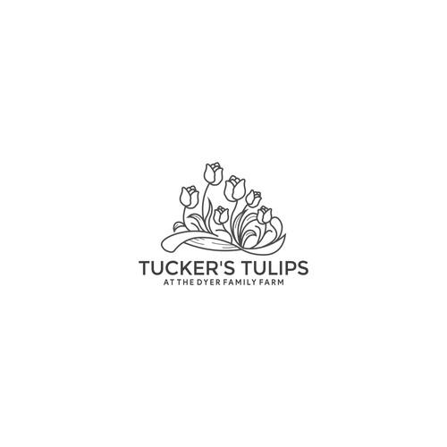 TUCKER'S TULIPS LOGO DESIGN