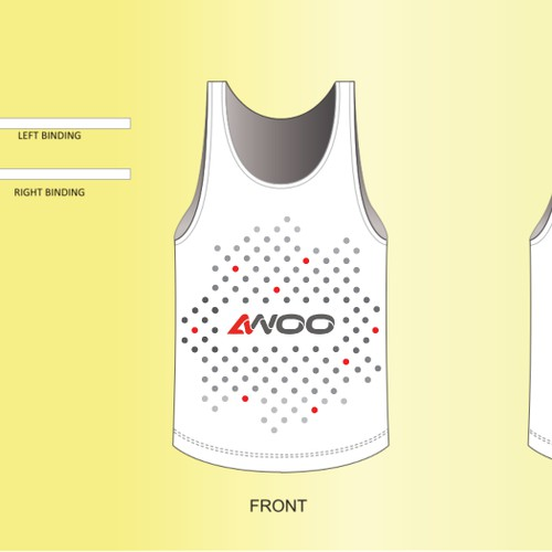 Sport apparel design - for sport brand apparel self promotion