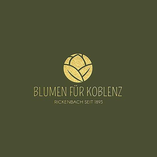 BLUMEN FÜR KOBLENZ - LOGO