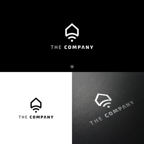 Logo for a company that sells Home Automation (security) & Solar to homeowners.