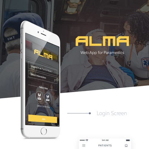 Web App for Paramedics