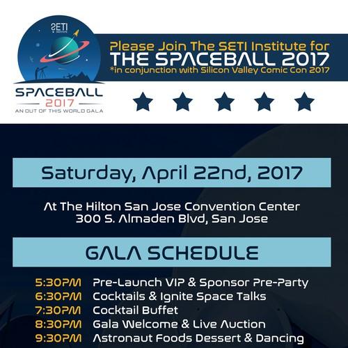 SETI SPACEBALL 2017
