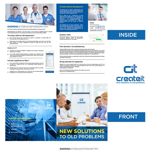 Flyer for createit
