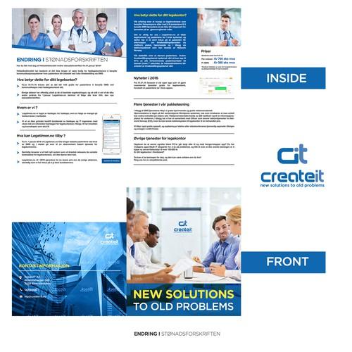 Flyer for createit