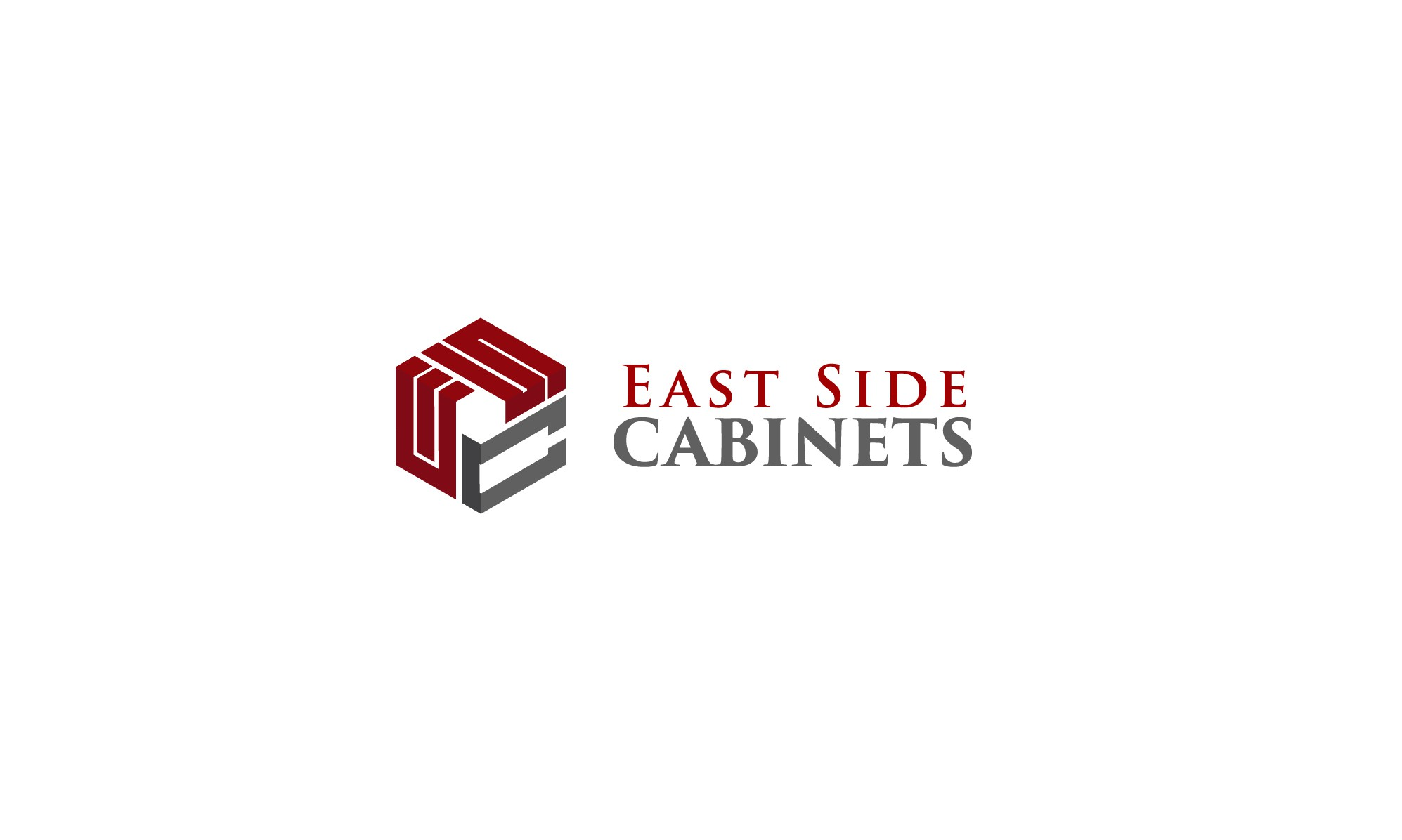 Custom woodworking business needs a powerful new logo for East Side Cabinets