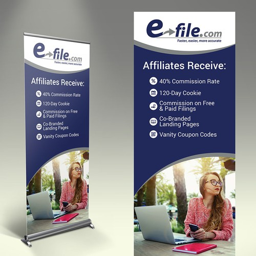 Design a Trade Show Banner for a Well Known Ecommerce Brand