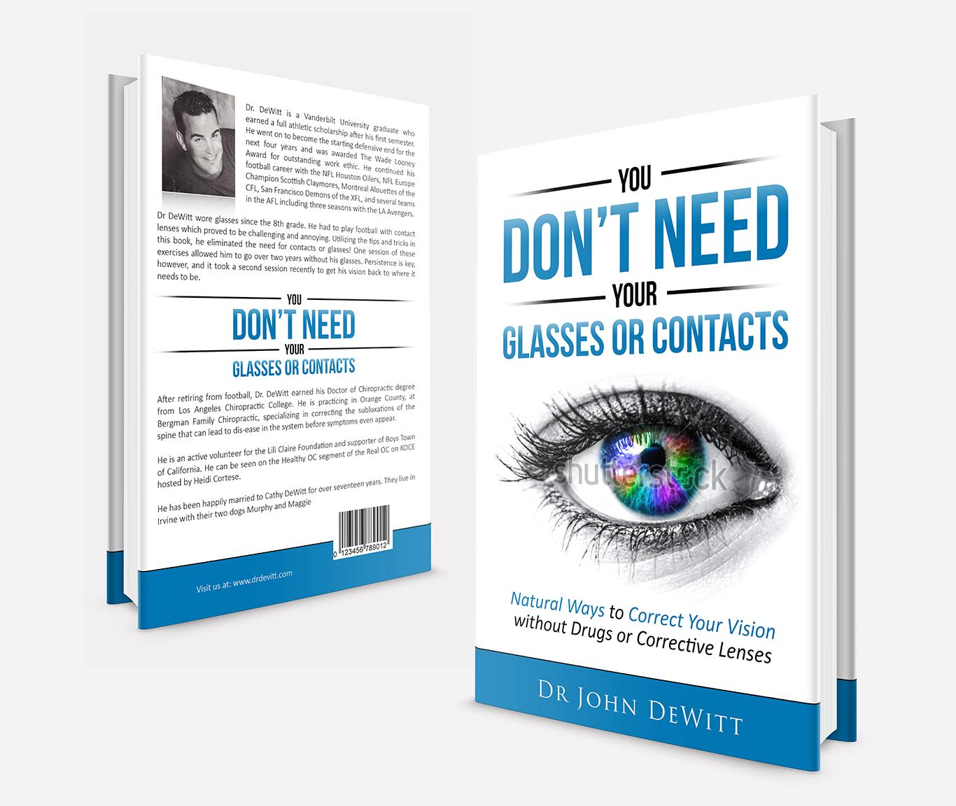 Natural Vision Correction Book Cover!