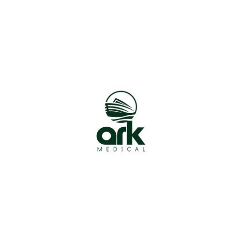 Bold Logo Concept for Ark Medical