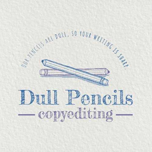 Logo for a copyediting business