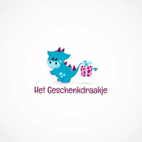 Logo design for baby presents