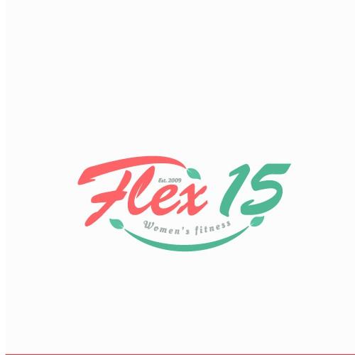 logo for flex 15