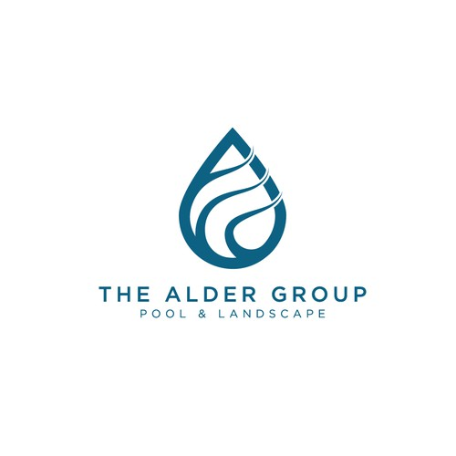 The alder group logo concept