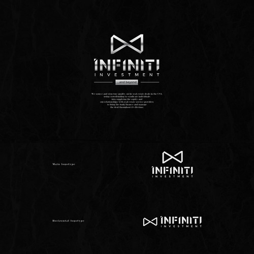 Infiniti Investment Logo and Business Card Design