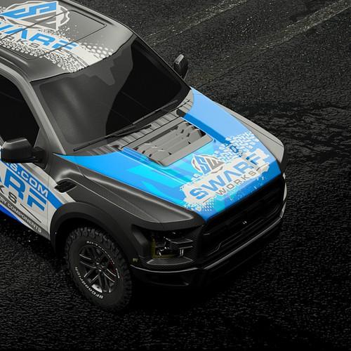 truck wrap design concept