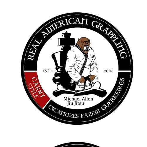 Create a logo that is bad ass for a JIU JITSU SCHOOL !!!