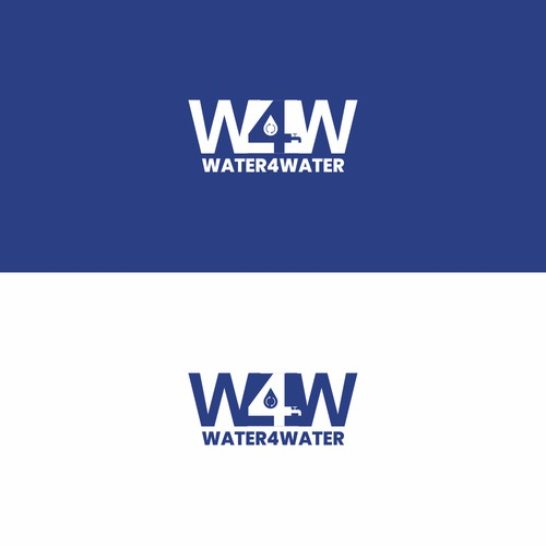 Logo design for Water4Water