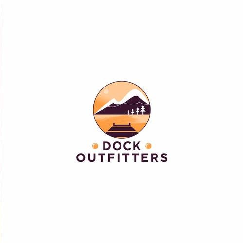 modern dock logo